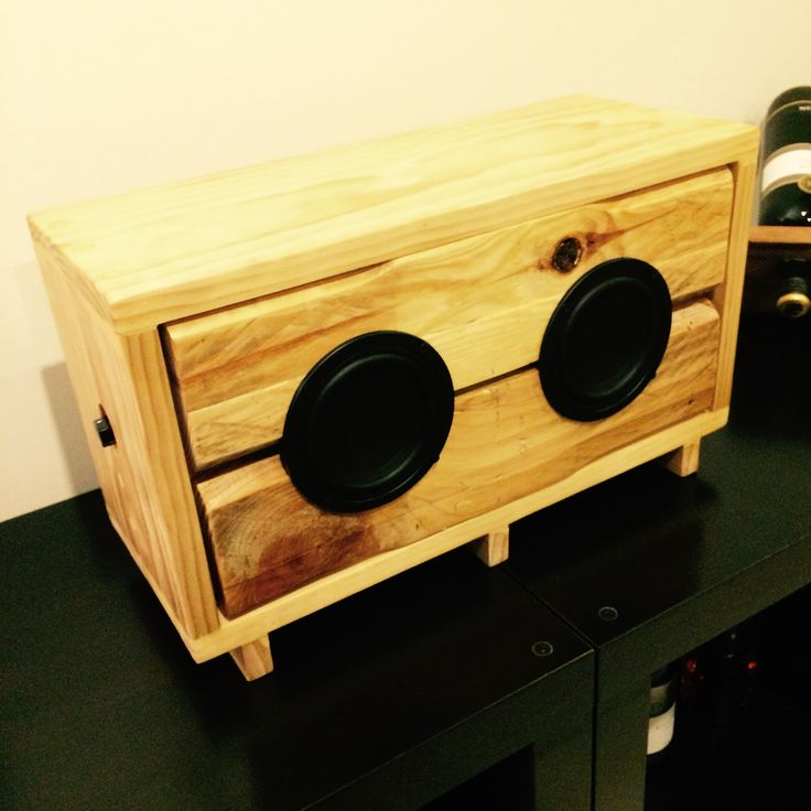 Wood speakers
