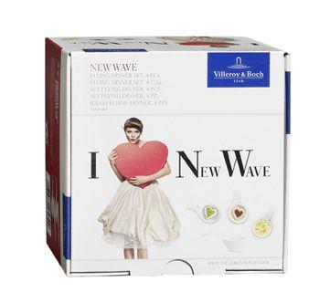Valentýnské balení mističek na omáčku