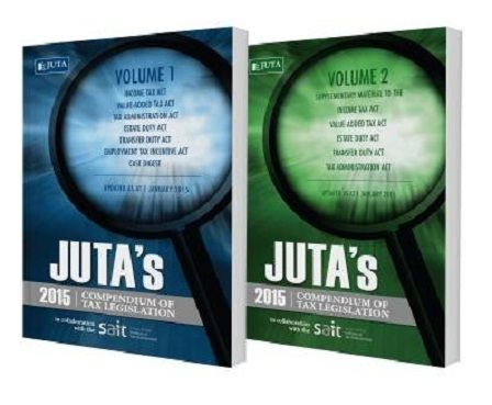 The 2015 edition of Juta's Compendium of Tax Legislation examines the amendments to South African tax law through a new lens. Demystifying the myriad of tax legislation, the two-volume 2015 edition will again be a reliable and invaluable resource for all tax practitioners.