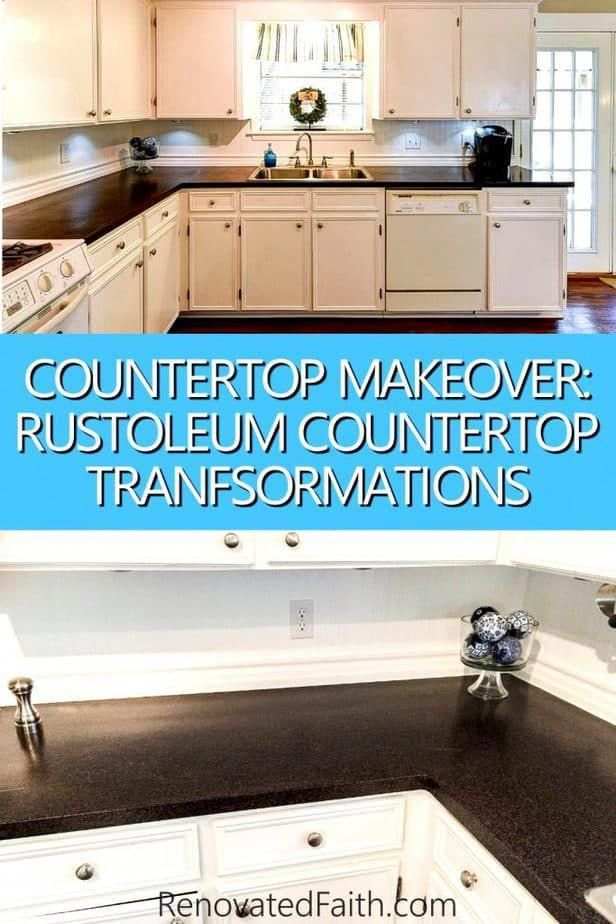 Rustoleum Countertop Transformations Review Of Painting Kitchen