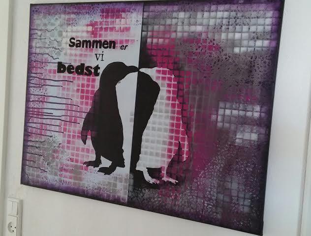 Pop art,pingvin