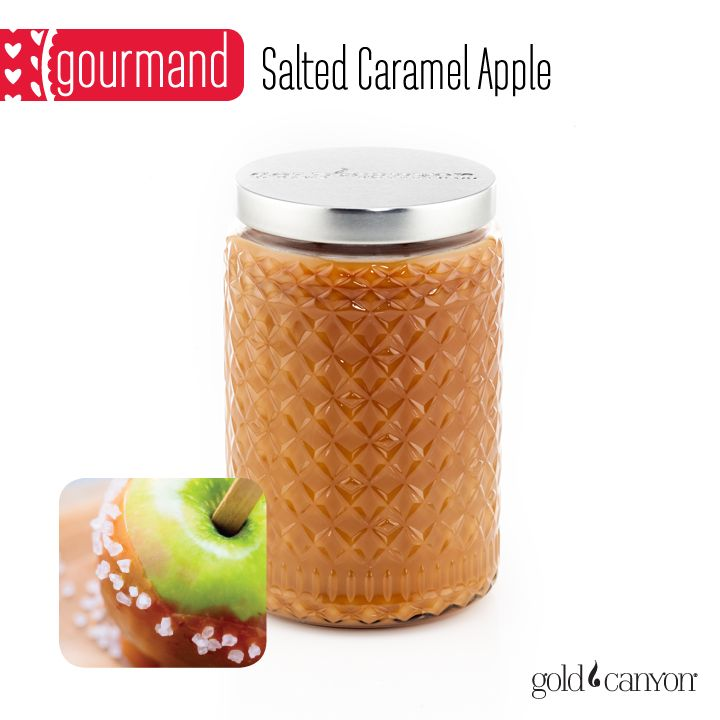 ~Salted Caramel Apple~ Nothin' says fall like a delicious caramel apple! The Salted Carmel Apple fragrance is crisp, gooey and divine with notes of apple, cinnamon & caramel.