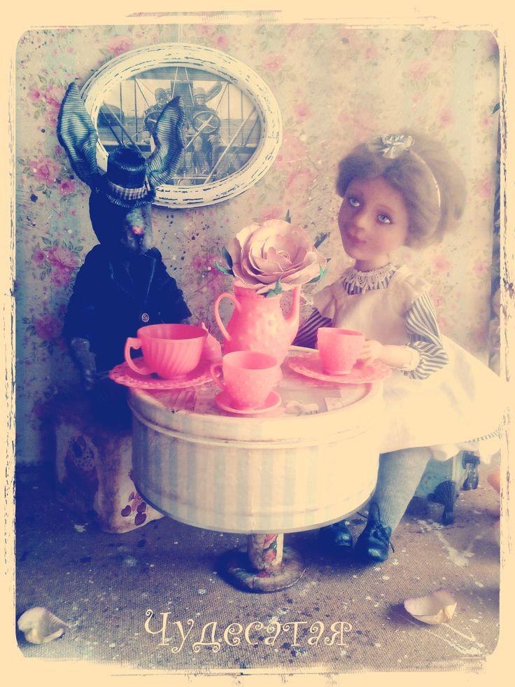 Алиса и Мартовский заяц