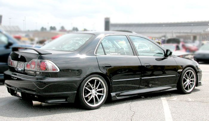 6 gen Spoiler 2002 Honda Accord body kit
