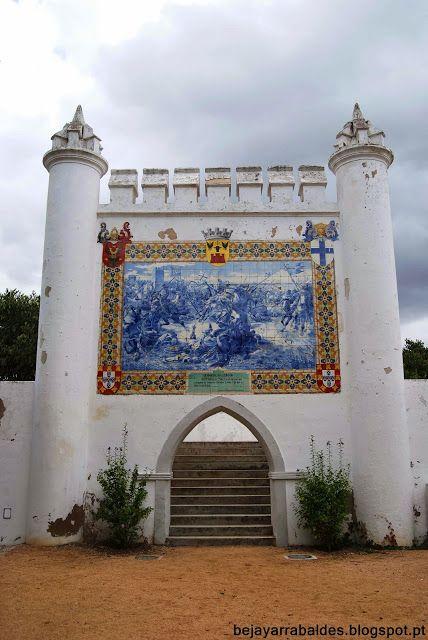 Painel de Azulejos Jardim Municipal de Beja - Beja y Arrabaldes