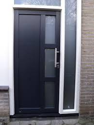 voordeuren modern - Glas aan andere zijde