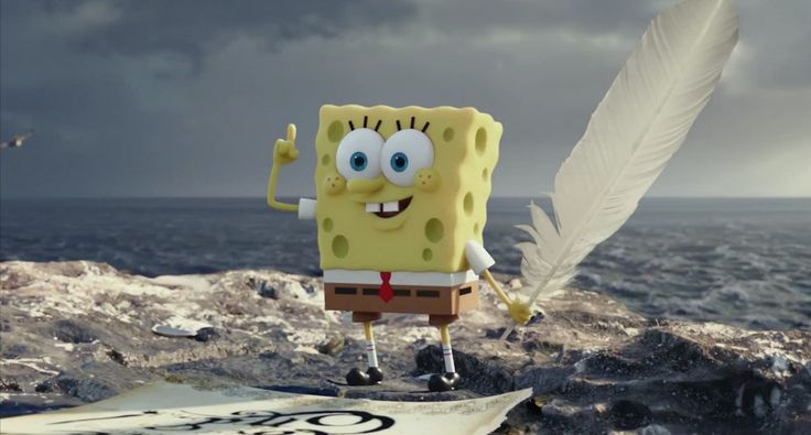 First Trailer for THE SPONGEBOB MOVIE: SPONGE OUT OF WATER