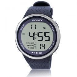 XONIX Sport LED Diving Water Resistant Resin Strap Digital Watch