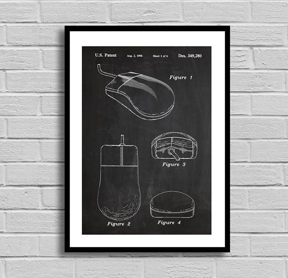 18 best design blueprints images on pinterest architecture mouse patent mouse patent poster mouse blueprint mouse print computer decor malvernweather Choice Image