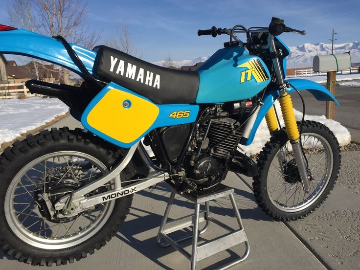 126 best dirt bikes images on pinterest dirt biking dirtbikes and yamaha it465 ebay publicscrutiny Choice Image