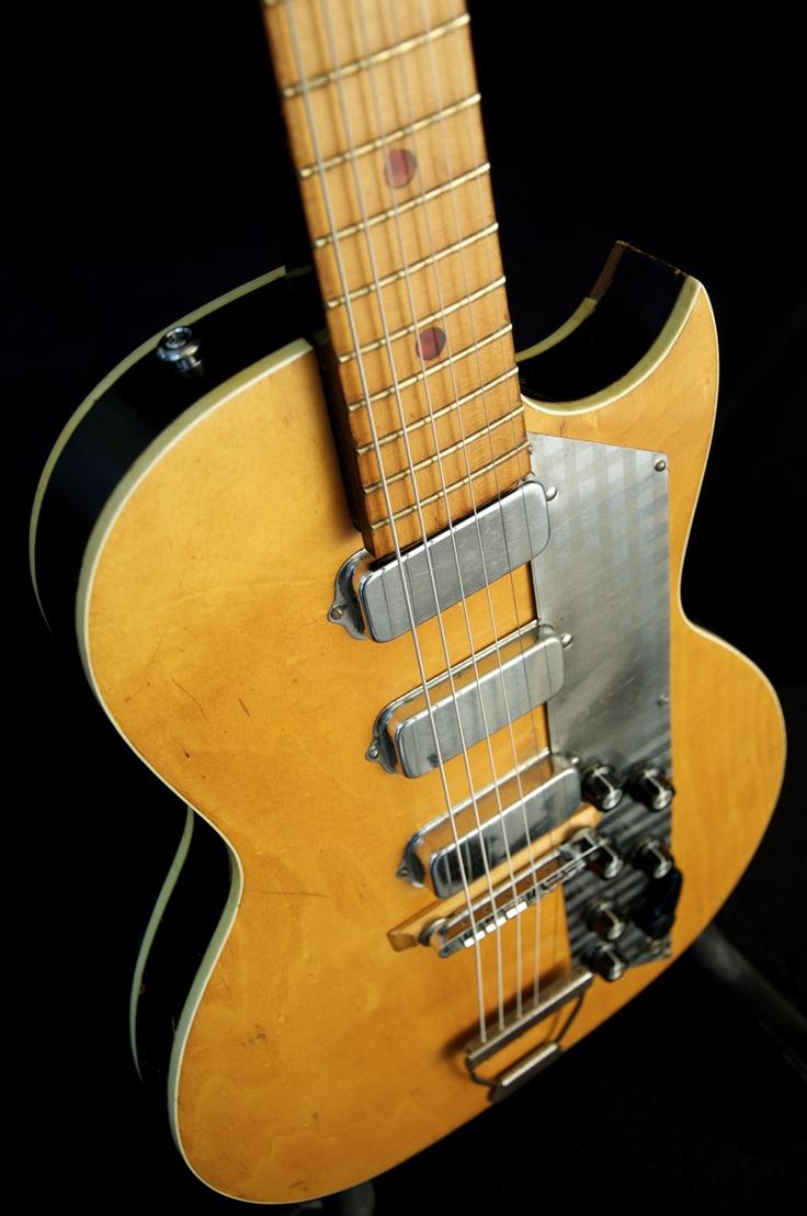 vintage 60s old kraftsman kay value leader guitar 1 of 2 vintage guitars pinterest. Black Bedroom Furniture Sets. Home Design Ideas