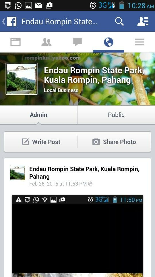 State park fb page for more info