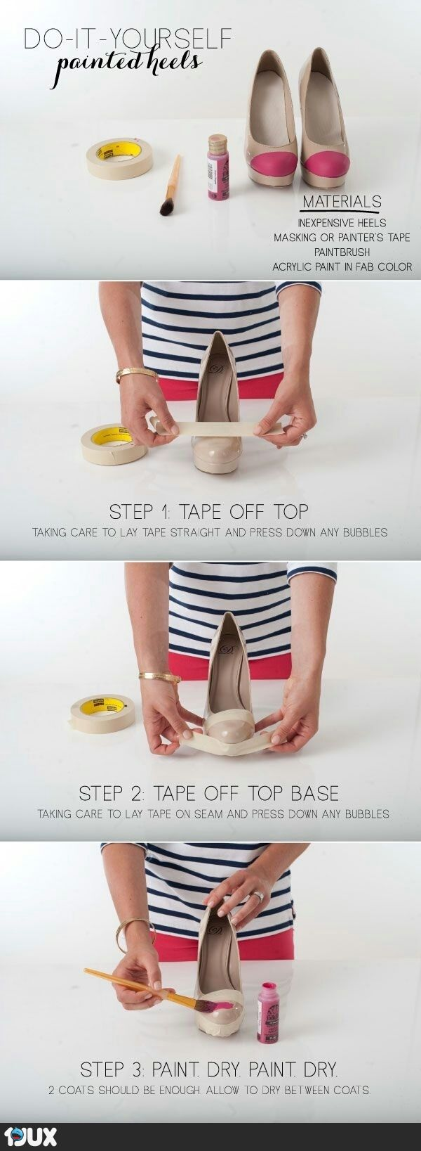 632 best diy shoes images on pinterest diy shoe shoes sandals and diy painted heel tips solutioingenieria Choice Image