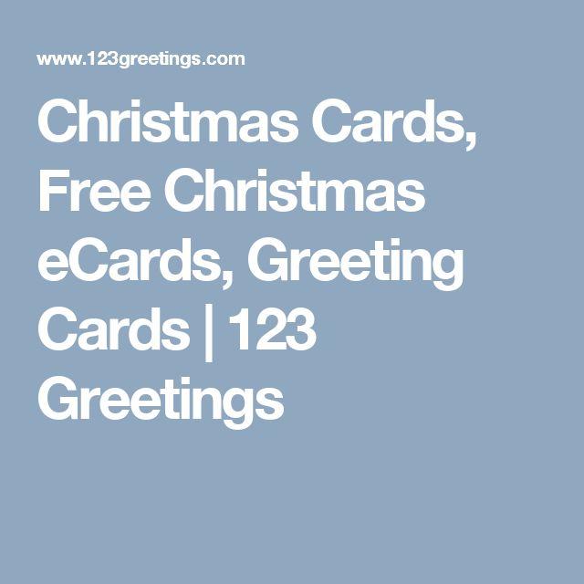 Christmas Cards, Free Christmas eCards, Greeting Cards   123 Greetings