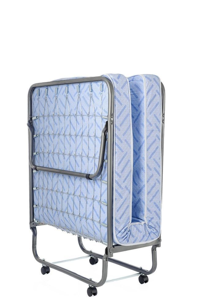 Bed Rollaway Folding Cot Mattress Included Comfortable Super Strong Milliard