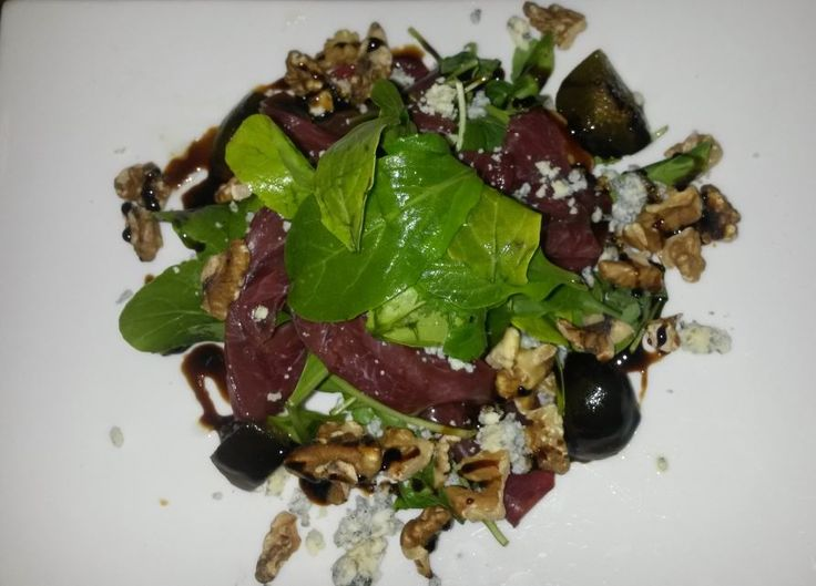 Taste our delicious Springbock-Carpaccio. You will love it!