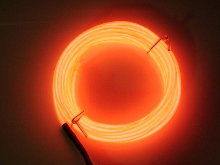 Pés Red Neon brilhante Strobing eletroluminescente fio ( El fio ) em Produtos EL de Componentes eletrônicos no AliExpress.com | Alibaba Group