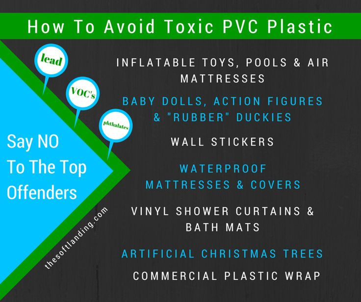 How - and Why - to Avoid Toxic PVC (Vinyl) Plastic in Everyday Products