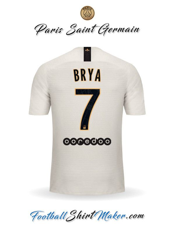 146d053a0ca Jersey Paris Saint Germain 2018/19 II Brya 7 | Kits | Paris saint ...