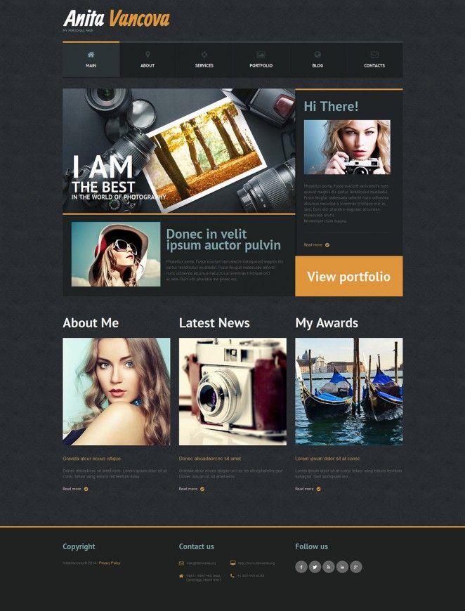 Mejores 26 imágenes de WordPress templates en Pinterest   Plantilla ...