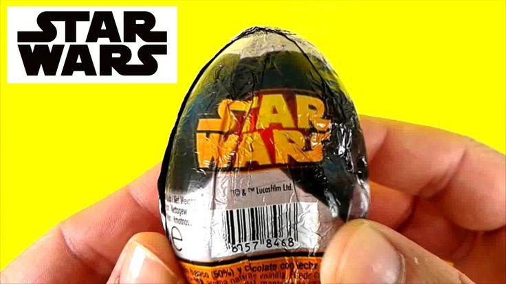 Star Wars Toys Surprise Eggs Huevos Sorpresa en Español Guerre Stellari