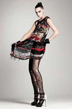 Rodarte (American, founded 2005). Vogue, July 2008. Photograph by David Sims #punkfashion