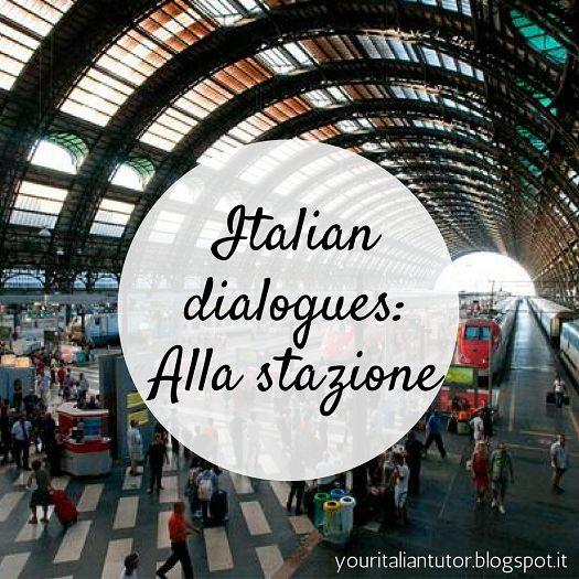 Italian lesson: At the station / Alla stazione