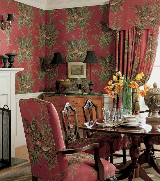 Thibaut Repertoire - Sussex - colour combination is lovely.