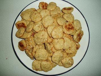 Rezept: Hundekekse....Einfache Kekshappen