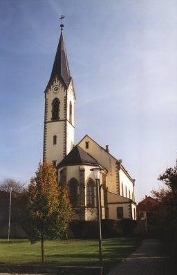 Röthlein, Pfarrkirche St. Jakobus