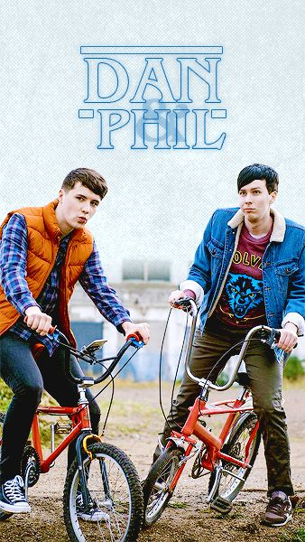 If Dan and Phil were in Stranger Things..... OH god. I've just created a thing haven't I?<<YES IM NOT THE ONLY ONE WHO THOUGHT OF THIS