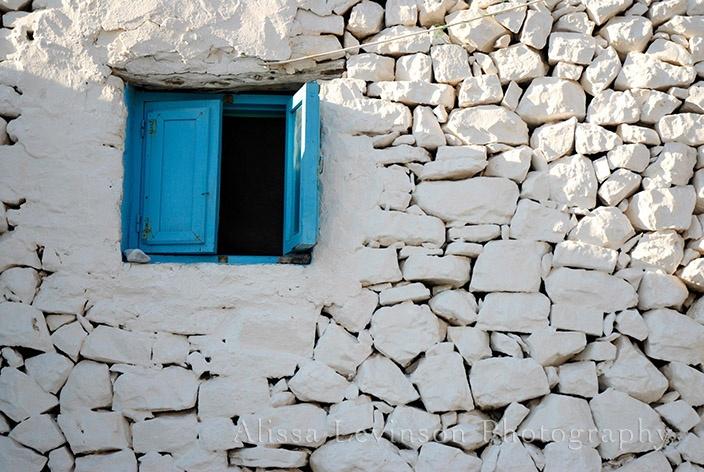 Blue Window - Greece