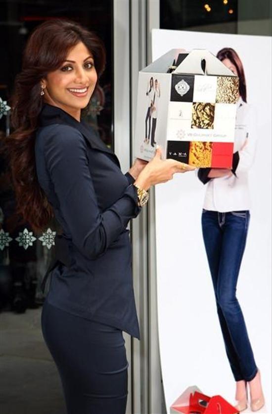 Shilpa Shetty wearing a Rolex GMT Master II watch