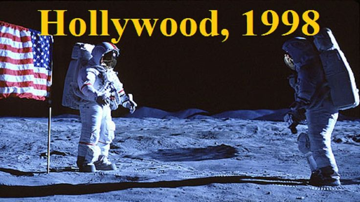 How Hollywood could fake the NASA moon landings, in 1998 - Flat Earth - ...