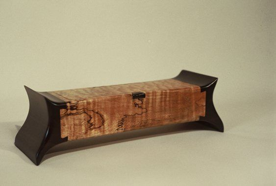 Peter Schlech Dovetail Box Spalted Maple Amp Wenge