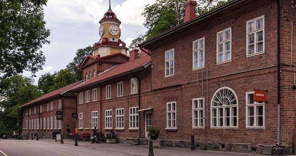 Fiskars village, main street