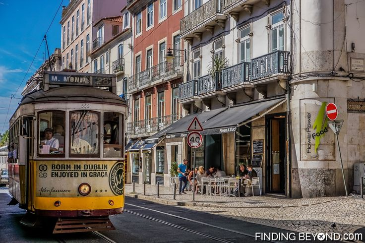 Tram 28. Things to do in Alfama District - Lisbon Old Town.