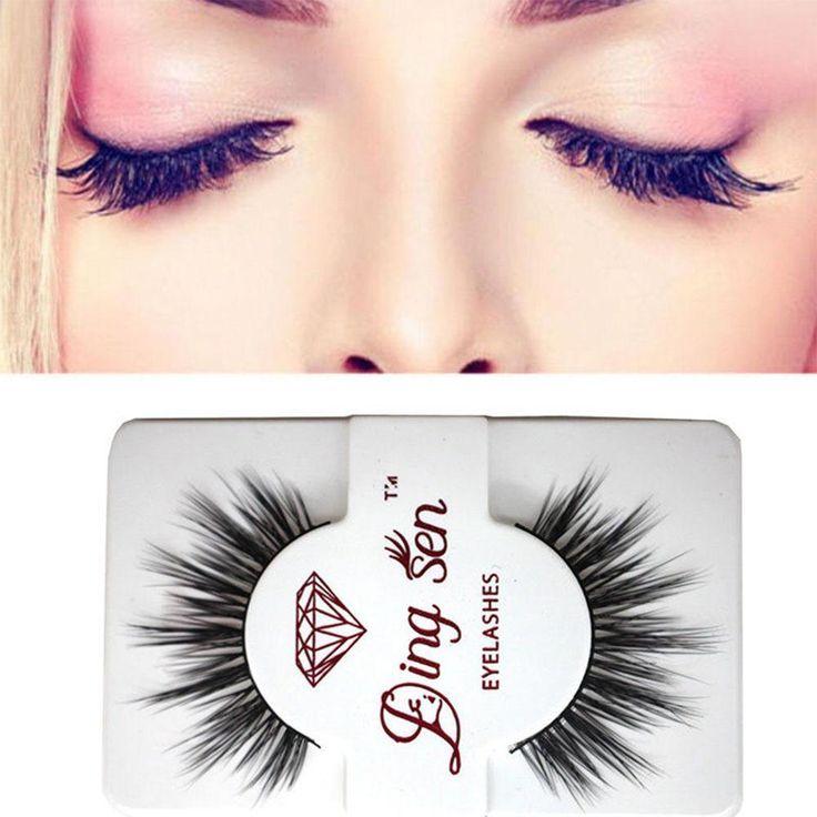 Beautiful False Eyelashes Pair Women Makeup False Eyelashes free shipping You save off the regular