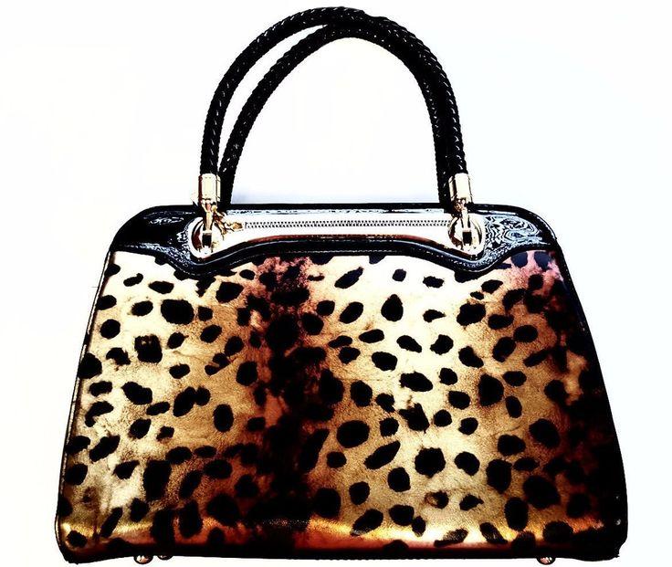 $52.99 - Arcadia Leopard Fashion Handbags  #Fashion #Handbag #Leopard
