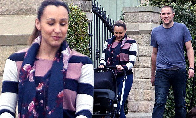 Jessica Ennis spotted with her baby for the first time since his birth