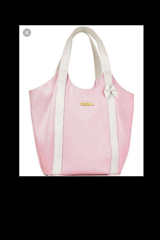 Juicy Couture Baby pink and white Tote bag  fashion  clothing  shoes   accessories  womensbagshandbags (ebay link) 8df67050e7