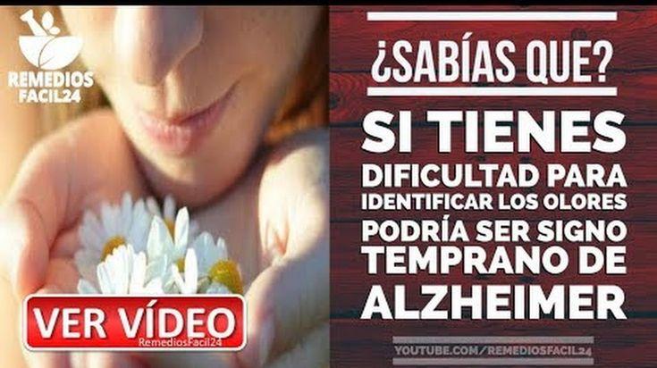 🔴 DIFICULTAD AL IDENTIFICAR OLORES PODRÍA SER SIGNO TEMPRANO DE ALZHEIMER - 🔴VISITA NUESTRO CANAL EN YOUTUBE👇👇 👉https://goo.gl/PvPC3d Facebook: @Remediosfacil24  #remediosfacil24 #remedioscaseros  #alimentosacidohialuronico #alimentosricosenacidohialuronico #saludnaturalhoy #salud #remedios_caseros #vidaysalud #home_remedies #remediosnaturales #tipssalud #medicinanatural #saludyvida #saludybienestar #saludnatural #homeopatia #remedios #medicinaalternativa