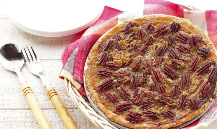 Pekanový koláč sjavorovým sirupem