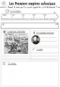 Histoire cycle 3 trame pour la trace écrite