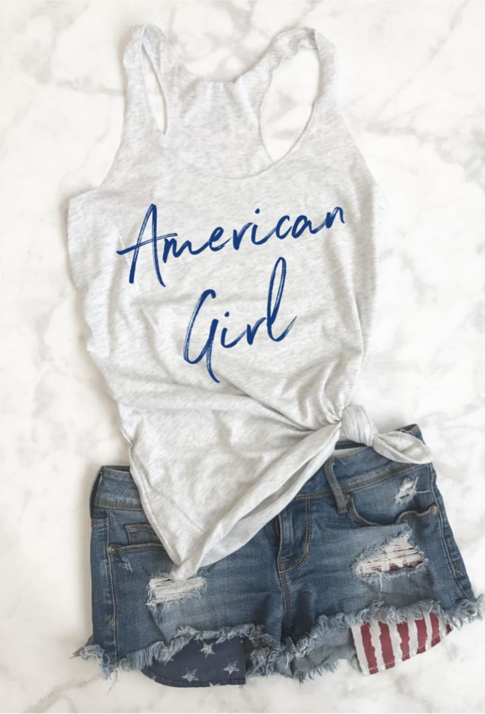 Fourth of July Shirt,  4th Of july shirt,  4th of july tank, fourth of july tank, 4th outfit, 4th of july tank, patriotic shirt, holiday shirt, american shirt, american flag shirt, red white and blue, American Girl