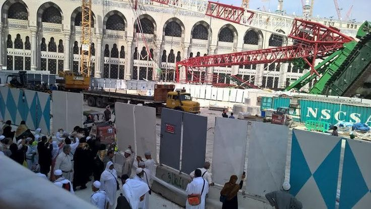 Tragedicrane Prayform H Mekkah Masjidilharam Crane Begini Kronologi Jatuhnya Crane Di Masjidil Haram Jatuhnya Alat Berat Proyek Crane D