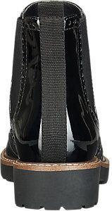 Graceland Ladies' Black Patent Chelsea Boots | Deichmann