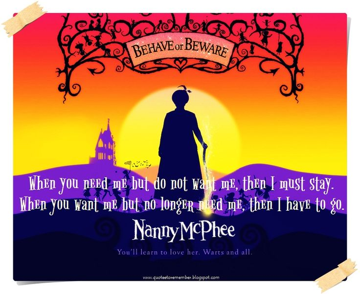 Simon Brown: We will never want you! || Nanny McPhee: Then I will never go. #NannyMcPhee #EmmaThompson