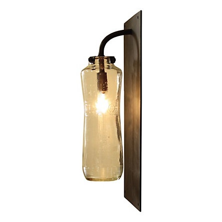 perfect wall light for the 'potting shed'