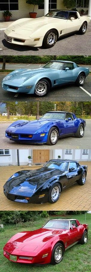 Corvettes…Re-pin…Dropped at you by #HouseofInsurance #EugeneOregon.